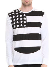 Well Established - CREWNECK FLAG TEE