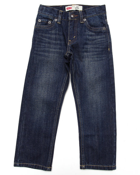 Levi's - Boys Dark Wash 511 Slim Jeans (4-7X)