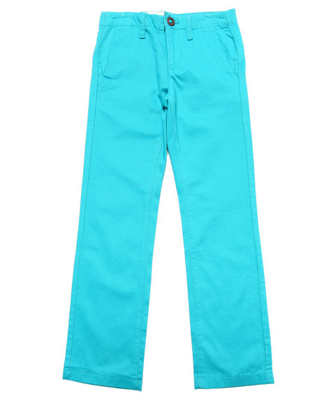 Volcom Boys Teal Faceted Pants (8-20)