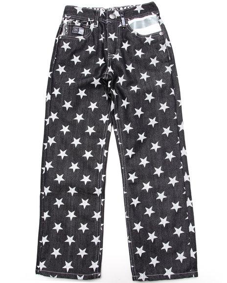 Akademiks - Boys Black Americana Jeans (8-20) - $21.99