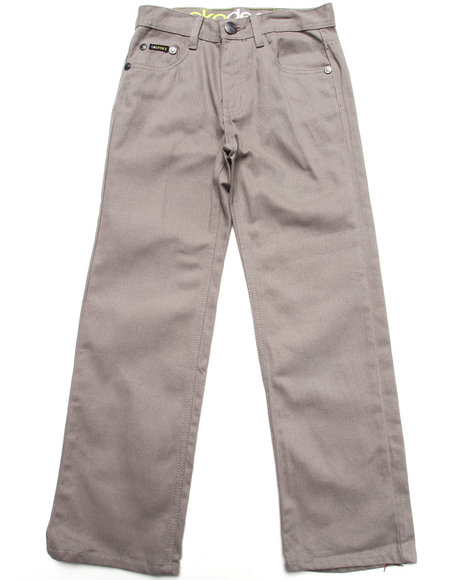 Akademiks Boys Grey Colored Twill Jeans (8-20)