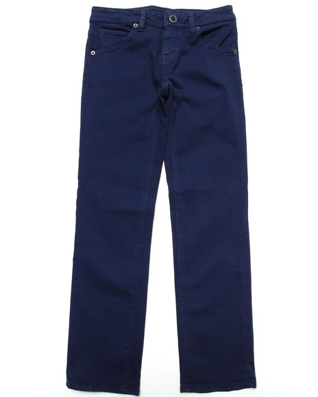 Volcom Boys Dark Blue Vorta Jeans (8-20)