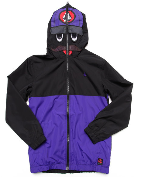 Volcom - Boys Purple Hoopla Digger Jacket (8-20)