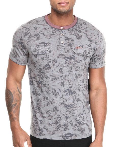 A Tiziano Blue Dexter Y-Neck T-Shirt