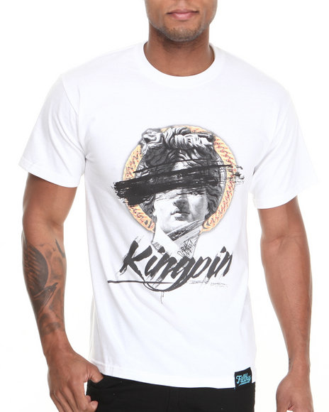 Filthy Dripped - Men White Kingpin T-Shirt