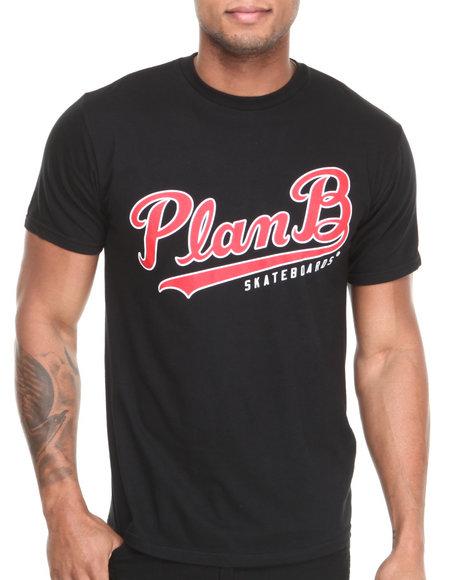 Plan B Black Crosstown Tee