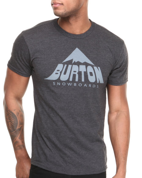 Burton Charcoal,Black Mckinley Recycled Slim Fit Tee