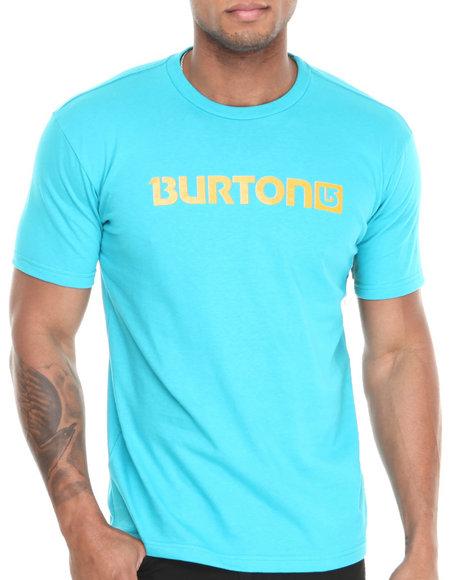 Burton Teal Logo Horizontal Tee