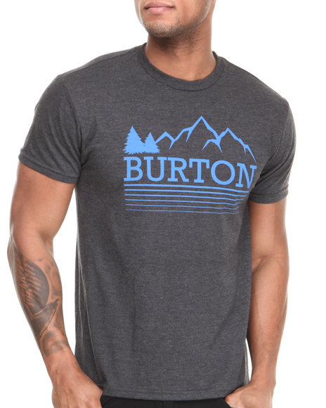 Burton Black Griswold Recycled Slim Fit Tee