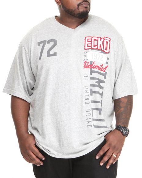 Ecko Grey 72 Unlimited V-Neck (Big & Tall)