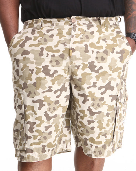 LRG - Men Camo Core Collection Classic Cargo Shorts (B & T)