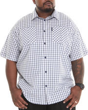 Ecko - Plaid S/S Button-Down (B&T)
