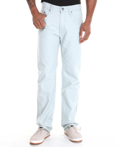 A Tiziano Green,Light Blue,Light Wash Alexander Denim Jeans