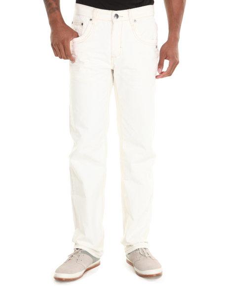 A Tiziano - Men Cream Alexander Denim Jeans