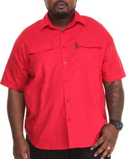 Ecko - Solid S/S Button-Down (B&T)