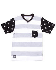 Akademiks - STARS AND STRIPES POCKET TEE (4-7)