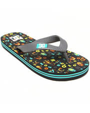 Sandals - Spray Graffik Sandals (1-7)