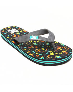 DC Shoes - Spray Graffik Sandals (1-7)