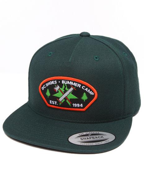 Dc Shoes Scores Snapback Cap Green
