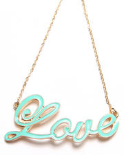 Women - Love Mint Necklace