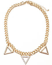 Necklaces - Triangle Chain Necklace