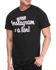 Buyers Picks - Your Instagram is a Liar Tee