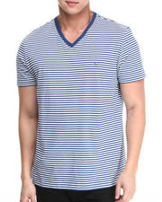 Men - S/S Heritage Stripe V-Neck Tee