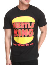 Men - Hustle King Tee