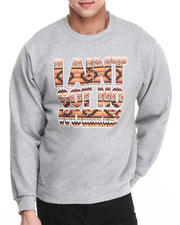 Basic Essentials - I Aint Got No Worries Crewneck