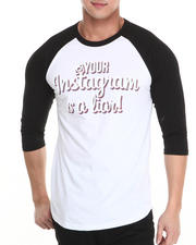 Buyers Picks - Your Instagram is a Liar Raglan Tee