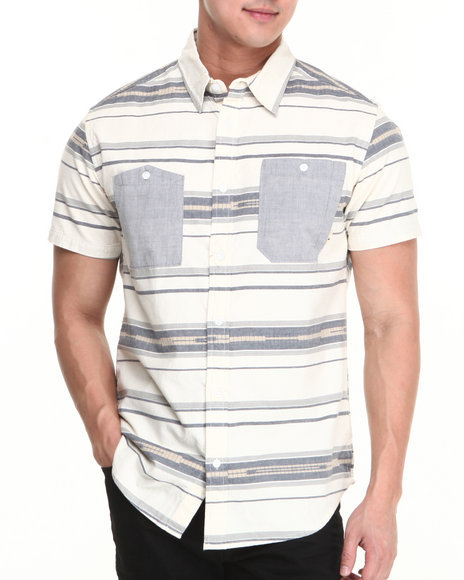 Burton - Men Multi Gilman S/S Button-Down