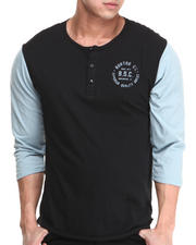 Men - Bar League Henley Baseball Tee