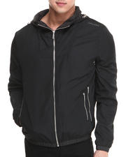 Men - Nylon Hooded Wind Breaker