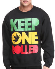 Men - Keep One Rolled Crewneck Sweatshirt