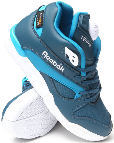 Reebok - Men Blue Court Victory Pump Cordura Sneakers