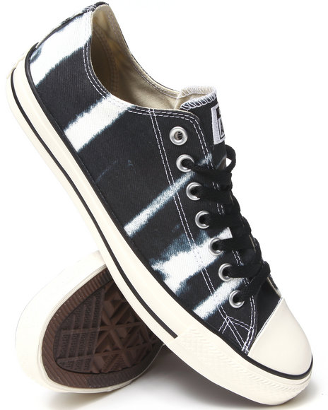 Converse Black Bleach Chuck Taylor All Star Ox Sneakers