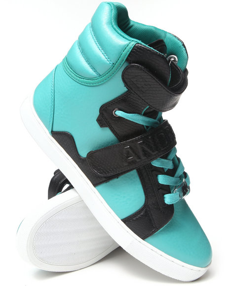 AH by Android Homme Blue,Green Propulsion Hi Sneakers