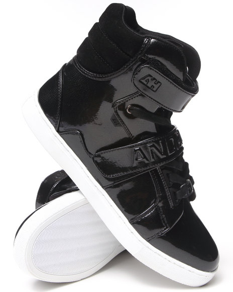 AH by Android Homme Black Propulsion Hi Sneakers