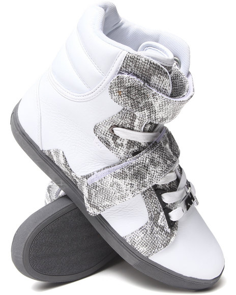 AH by Android Homme White Propulsion Hi Sneakers