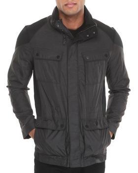 Calvin Klein - 4-Pocket Nylon Zip-Up Jacket