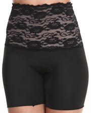 Intimates & Sleepwear - Stretch Floral Lace Bike Shaper