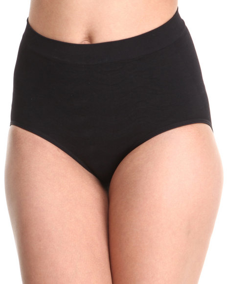 Drj Lingerie Shoppe - Women Black Seamless Firm Control Shaper Panty - $5.99