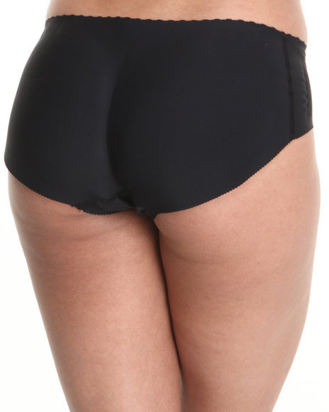 Drj Lingerie Shoppe - Women Black Bootie Enhancer Panty