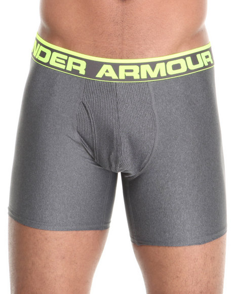 Under Armour Charcoal The Original Boxerjock Brief (Sizes S-3X)