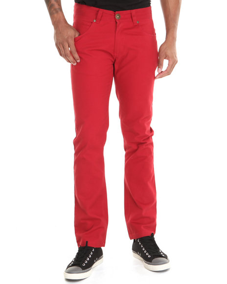 Live Mechanics Red Crowd Controlled Denim Jeans