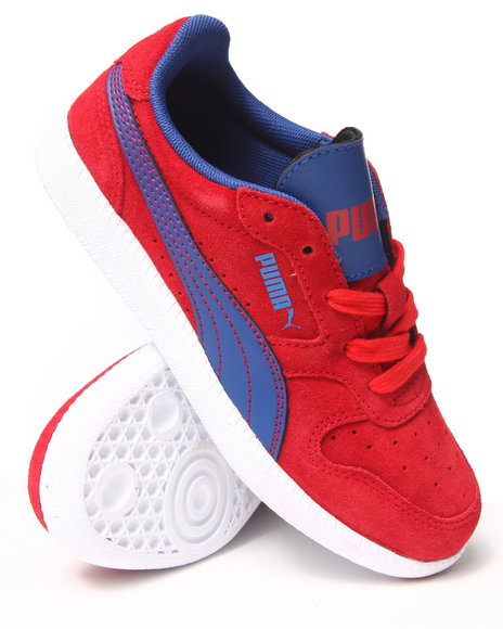 Puma Boys Red Icra Trainer Jr. Sneakers (11-7)