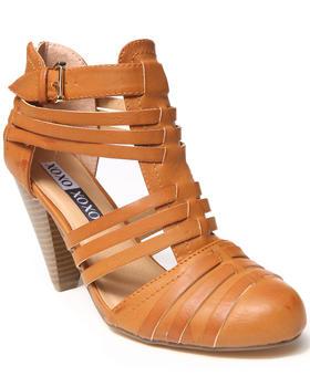 XOXO - Pedro Vegan Leather Citi Gladiator Heel