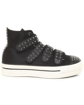 Converse Premium - Chuck Taylor Studded Platform 4V Zip Sneakers