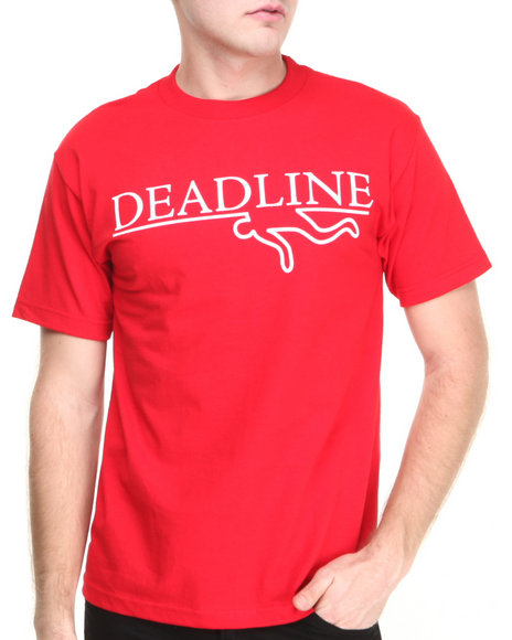 Deadline Red T-Shirts