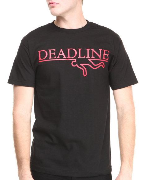 Deadline Black O G Logo Tee